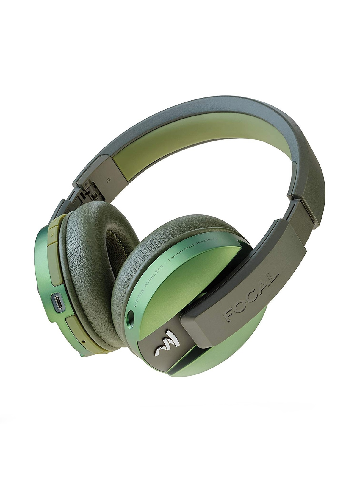 Standart Focal Listen Chic Yeşil Wireless Bluetooth Kulak Üstü Kulaklık